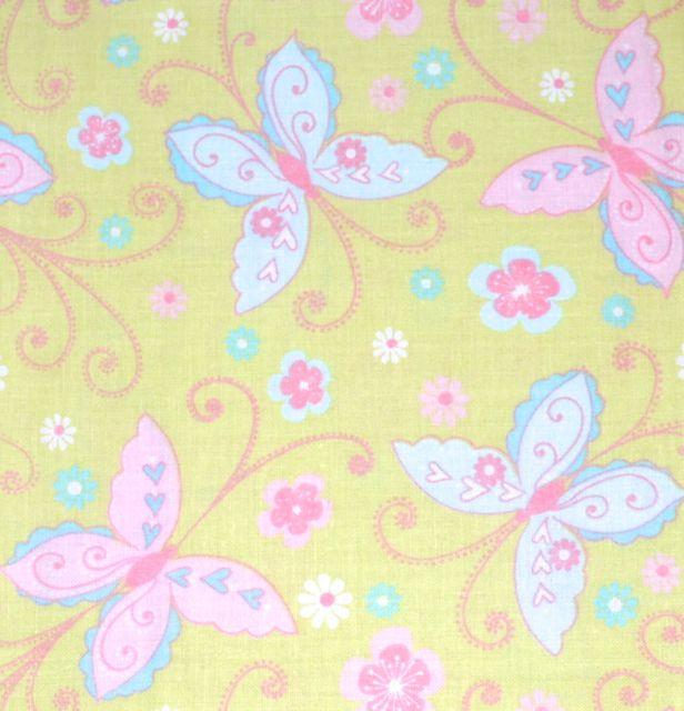 Pretty bird nursery quilt panel kit pennylane for Bird nursery fabric